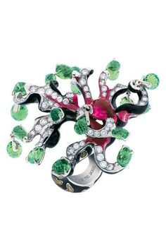 dior rings by victoire de castellane