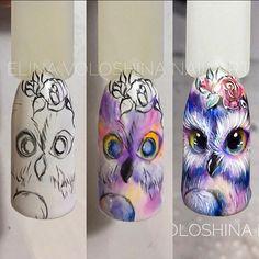 Hot Trendy Nail Art Designs that You Will Love 3d Nail Art, Funky Nail Art, Crazy Nail Art, Animal Nail Art, Trendy Nail Art, Funky Nails, Cute Nail Art, Acrylic Nail Art, Cute Nails