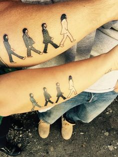 14-beatles tattoo