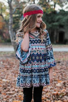 Kids Ruffle Tiered Printed Top – UOIOnline.com: Women's Clothing Boutique