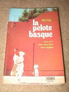"1974 ""La Pelote Basque"": Jai-Alai, Handball, Pala Book | #420945098"