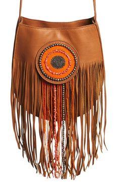 Sam Edelman 'Karina' Fringe Leather Shoulder Bag