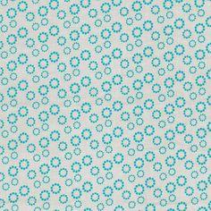New Nordic by Stof Fabrics. Blue circles.