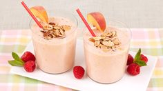 Peach and Almond Smoothie - Recipes - Best Recipes Ever - This easy smoothie makes it possible to enjoy a healthy breakfast on even the busiest mornings.