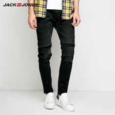 Jack Jones Men s Fall Rips Patch Casual Jeans J 218332523. Yesterday s  price  US 87a7b2e206