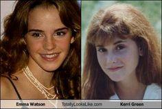 Emma Watson Totally Looks Like Kerri Green (Andy - The Goonies)