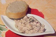 Finnischer Sardellenaufstrich (Rezept mit Bild) von SchmackoFatz3   Chefkoch.de Pickles, Seafood, Oatmeal, Muffin, Food And Drink, Fish, Breakfast, Party, Chutneys