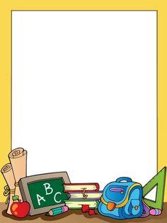 school clipart borders / school clipart & school clipart kids & school clipart teachers & school clipart free & school clipart clip art & school clipart classroom & school clipart black and white & school clipart borders Boarder Designs, Page Borders Design, 1st Day Of School, Art School, School Kids, School Border, Boarders And Frames, School Frame, Powerpoint Background Design