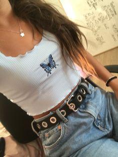 Cotecristihak 𓃱✮  instagram:@mariajosecristih Good Vibes, T Shirt, Outfits, Instagram, Tops, Women, Fashion, Supreme T Shirt, Moda