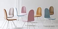 The Tongue chair produced by Howe - Arne Jacobsen