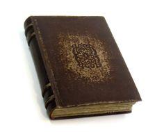 Wisdom - Antiqued Leather Journal / Large Sketchbook / Album - Vintage Style Aged Paper - Old Spine Binding
