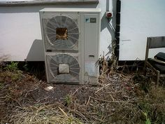 Daikin Air Conditioning - About to Fall Over! by Nottingham Air Conditioning, via Flickr