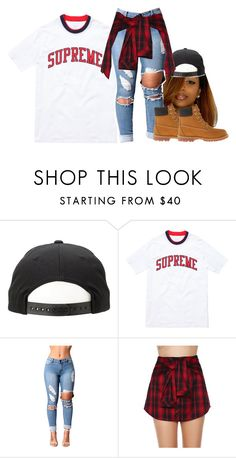 """""""..."""" by princess-sinia ❤ liked on Polyvore featuring Mustard Seed and Timberland"""