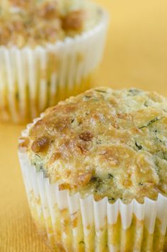 Goat's Cheese & Basil Muffins