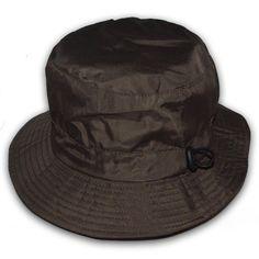 Hats for Men   Green Showerproof Bucket Hat
