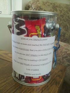 Cute idea for an inexpensive grad gift