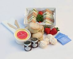 Cream Tea For Two - wow there's a company that packs them up and sends them to you