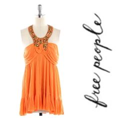 Free People Tangerine Top Stunning Free People Top. See second pic for item details. Free People Tops