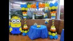 Ideas de fiesta de cumpleaños con Minions