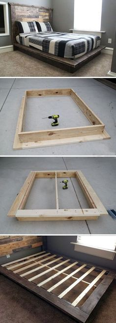 Build This Pallet Bed