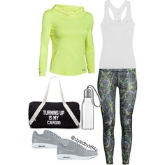 A fashion look from September 2015 featuring H&M activewear pants, Under Armour activewear tops and Le Coq Sportif activewear tops. Browse and shop related loo…
