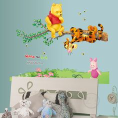 Check current price Winnie the Pooh Wall Sticker Home Decor Cartoon Wall Decal for Kids Room Decal Baby Vinyl Mural Nursery just only $3.09 with free shipping worldwide  #wallstickers Plese click on picture to see our special price for you