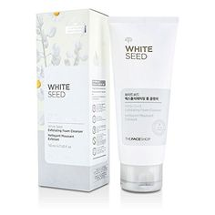 Face Skin Care The Face Shop White Seed Exfoliating Foam Cleanser 47oz 140ml -- More info could be found at the image url.