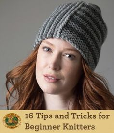 16 Tips and Tricks for Beginner Knitters!