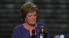 Pat Summitt is the 2012 recipient of the Arthur Ashe Award. Watch the tribute video aired on the ESPYs. Through her leadership by example, she has become one of the most inspirational and impactful coaches to influence the game and college athletics.