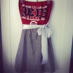 Cincinnati Reds Game Day Dress