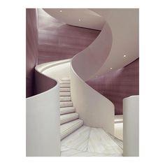 "575 mentions J'aime, 17 commentaires - Fuigo (@fuigo.io) sur Instagram : ""Flagship Staircase // Giorgio Armani // Milan, Italy #Architecture #Interiors #Interior #stairs…"""
