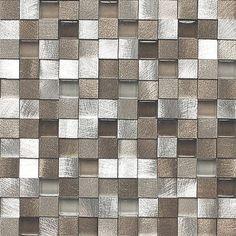 Wall Tile Decals Vinyl Sticker Waterproof Wallpaper For Kitchen Bath Mosaic Ms017 Metallic Shells