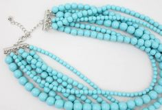 Layered Turquoise Necklace - Buy From ShopDesignSpark.com