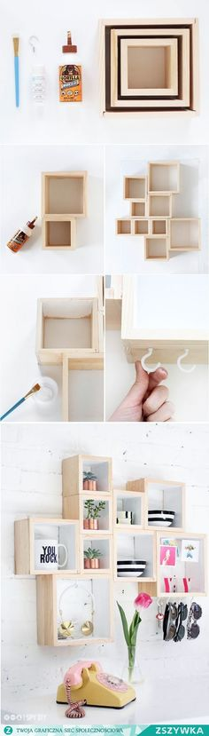 15 Easy DIY Reclaimed Wood Projects- Want to try your skills in some easy woodworking projects? Whether you're a beginner or an expert, you'll find something to work on from. Source by kdingley - Diy Room Decor, Bedroom Decor, Bedroom Ideas, Bedroom Hacks, Diy Casa, Reclaimed Wood Projects, Ideias Diy, Easy Woodworking Projects, Woodworking Plans