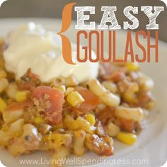 Easy Goulash Recipe | How to Make Homemade Goulash | 30 Minute Meal