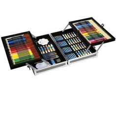 <div>Bring your imagination to life with this all-in-one kit. This 126-piece art set is the perf...