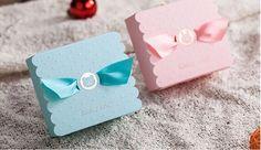 Baby Girl Favour Box (Pink) 10pcs