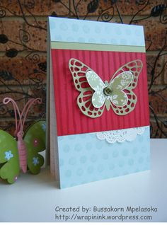 Butterflies shopping list fridge magnet, Stampin' Up! Washi Tape Cards, Quick Cards, Butterfly Cards, Creative Cards, Fundraising, Stampin Up, Magnets, Card Making, Greeting Cards
