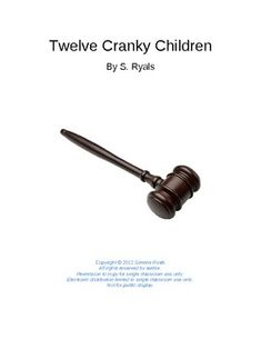 Twelve Cranky Children Elementary Script Drama Club Reader