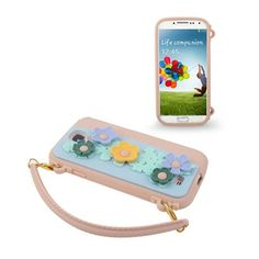 Flower Purse (Pink) Samsung Galaxy S4 Cover