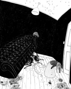 Absolutely fantastic: My First Kafka – if Edward Gorey and Maurice Sendak had illustrated Kafka for kids.