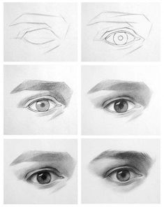 drawing eyes step by step ~ drawing eyes ` drawing eyes step by step ` drawing eyes cartoon ` drawing eyes anime ` drawing eyes realistic ` drawing eyes easy ` drawing eyes step by step easy ` drawing eyes step by step realistic Eye Drawing Tutorials, Drawing Techniques, Art Tutorials, Drawing Skills, Drawing Lessons, Drawing Reference, Realistic Eye Drawing, Drawing Eyes, Pencil Art Drawings