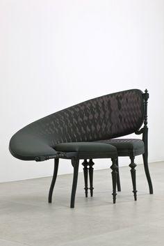 Sebastian Brajkovic We met Karin who upholstered these in Amsterdam...bloody awesome