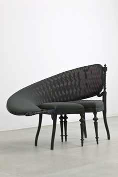Sebastian Brajkovic We met Karin who upholstered these in Amsterdam...bloody awesome