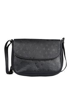 e82ccbbfdd Leather Star Embossed Cross Body Bag