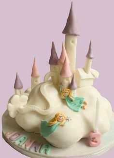 Cloud Palace Cake - a Debbie Brown Design