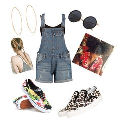 """""""Football Scrimmage Outfit✨🏈"""" by angeliqueamor on Polyvore featuring Mother of Pearl, Boohoo, Vans and Lana"""