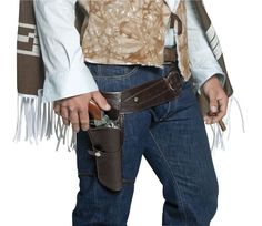 Single Holster And faux Leather Gun Belt Cowboy Costume Gunbelt 33097 Cowboy Holsters, Western Holsters, Gun Holster, Leather Holster, Western Belts, Western Cowboy, Cowboy Baby, Western Wear, Walking Dead Costumes