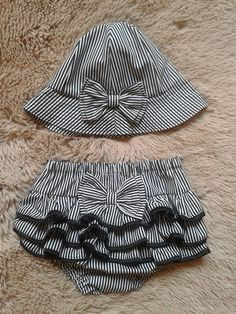 Awesome Photo of Hat Sewing Patterns Wedding Dresses For Girls, Dresses Kids Girl, Kids Outfits, Fall Baby Clothes, Crochet Baby Clothes, Girls Playsuit, Baby Dress Patterns, Sewing Patterns, Outdoor Baby