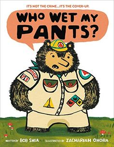 When Reuben the bear brings doughnuts to his forest friends, they discover that his pants are wet and he angrily accuses them of the dirty deed. Toddler Books, Childrens Books, Good Books, My Books, Free Books, Potty Training Books, Wet Pants, Game Start, Forest Friends